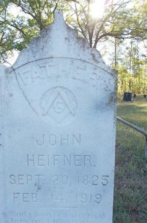 HEIFNER, JOHN (CLOSE UP) - Bossier County, Louisiana | JOHN (CLOSE UP) HEIFNER - Louisiana Gravestone Photos