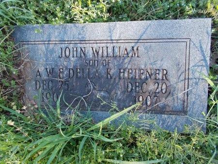 HEIFNER, JOHN WILLIAM - Bossier County, Louisiana | JOHN WILLIAM HEIFNER - Louisiana Gravestone Photos