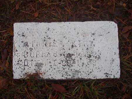 KIRK, MINNIE - Bossier County, Louisiana | MINNIE KIRK - Louisiana Gravestone Photos