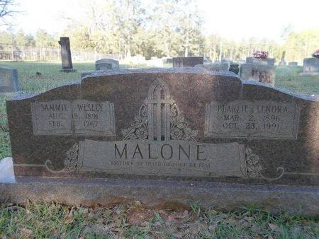 MALONE, SAMMIE WESLEY - Bossier County, Louisiana | SAMMIE WESLEY MALONE - Louisiana Gravestone Photos