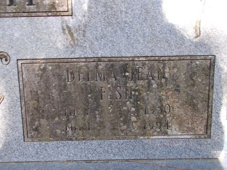 SMITH, DELMA JEAN (CLOSE UP) - Bossier County, Louisiana | DELMA JEAN (CLOSE UP) SMITH - Louisiana Gravestone Photos