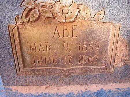TURNER, ABE (CLOSE UP) - Bossier County, Louisiana | ABE (CLOSE UP) TURNER - Louisiana Gravestone Photos