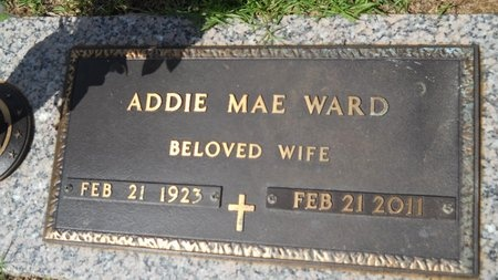 WARD, ADDIE MAE - Bossier County, Louisiana | ADDIE MAE WARD - Louisiana Gravestone Photos