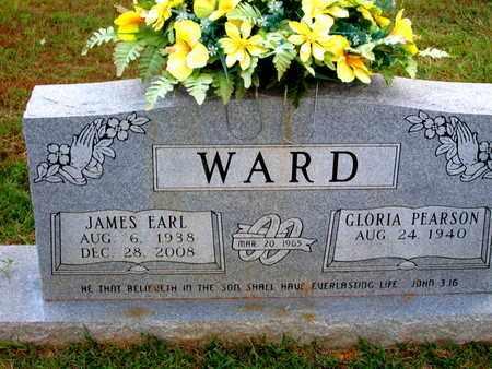 WARD, JAMES EARL - Bossier County, Louisiana | JAMES EARL WARD - Louisiana Gravestone Photos