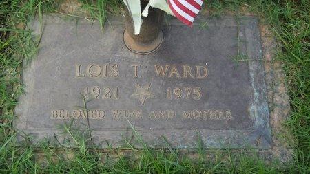 WARD, LOIS T - Bossier County, Louisiana | LOIS T WARD - Louisiana Gravestone Photos