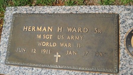 WARD, HERMAN H, SR  (VETERAN WWII) - Bossier County, Louisiana | HERMAN H, SR  (VETERAN WWII) WARD - Louisiana Gravestone Photos