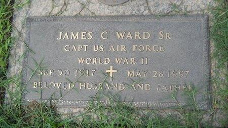 WARD, JAMES C, SR  (VETERAN WWII) - Bossier County, Louisiana | JAMES C, SR  (VETERAN WWII) WARD - Louisiana Gravestone Photos