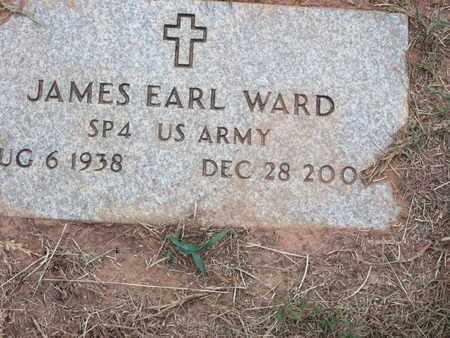 WARD, JAMES EARL (VETERAN) - Bossier County, Louisiana   JAMES EARL (VETERAN) WARD - Louisiana Gravestone Photos