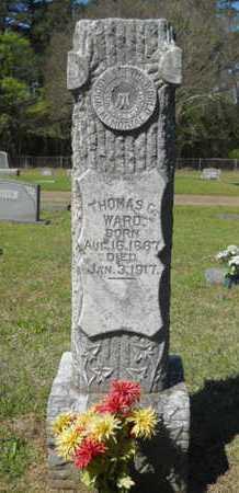 WARD, THOMAS G - Bossier County, Louisiana   THOMAS G WARD - Louisiana Gravestone Photos