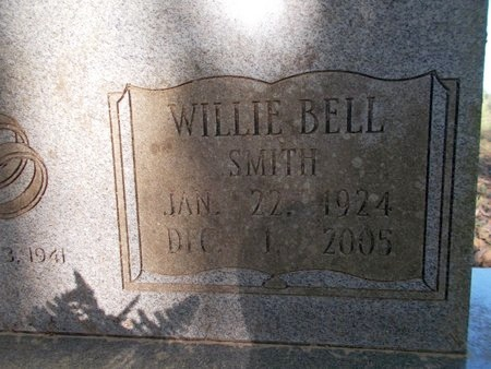 SMITH WATKINS, WILLIE BELL (CLOSE UP) - Bossier County, Louisiana | WILLIE BELL (CLOSE UP) SMITH WATKINS - Louisiana Gravestone Photos