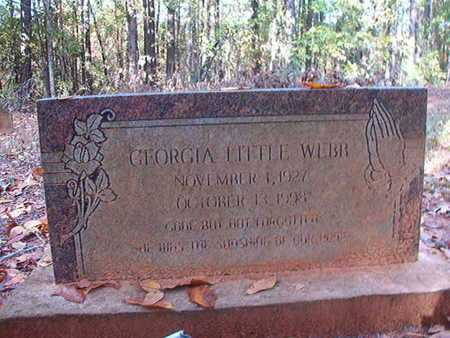 WEBB, GEORGIA - Bossier County, Louisiana | GEORGIA WEBB - Louisiana Gravestone Photos