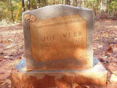 WEBB, JOE - Bossier County, Louisiana   JOE WEBB - Louisiana Gravestone Photos