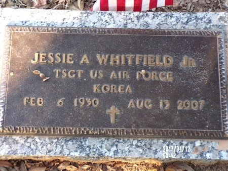 WHITFIELD, JESSIE A, JR (VETERAN KOR) - Bossier County, Louisiana | JESSIE A, JR (VETERAN KOR) WHITFIELD - Louisiana Gravestone Photos