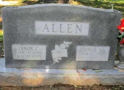 ALLEN, LYNOS C - Caddo County, Louisiana | LYNOS C ALLEN - Louisiana Gravestone Photos