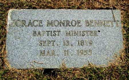 BENNETT, HORACE MONROE - Caddo County, Louisiana | HORACE MONROE BENNETT - Louisiana Gravestone Photos