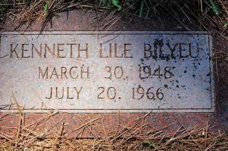BILYEU, KENNETH LILE - Caddo County, Louisiana | KENNETH LILE BILYEU - Louisiana Gravestone Photos