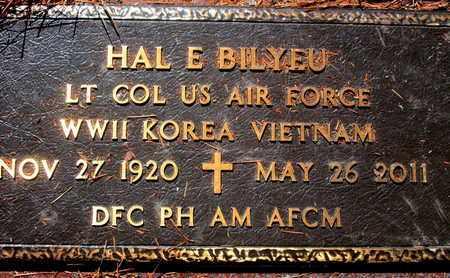 BILYEU, HAL E (VETERAN 3 WARS) - Caddo County, Louisiana   HAL E (VETERAN 3 WARS) BILYEU - Louisiana Gravestone Photos