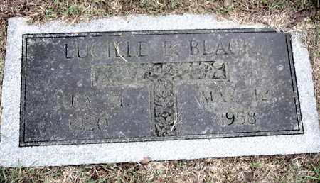 BLACK, LUCILLE B - Caddo County, Louisiana | LUCILLE B BLACK - Louisiana Gravestone Photos