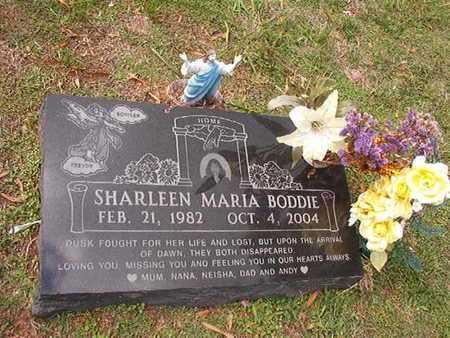 BODDIE, SHARLEEN MARIA - Caddo County, Louisiana | SHARLEEN MARIA BODDIE - Louisiana Gravestone Photos