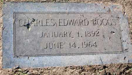 BOGGS, CHARLES EDWARD - Caddo County, Louisiana | CHARLES EDWARD BOGGS - Louisiana Gravestone Photos