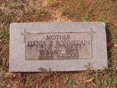 BONVILLAIN, ELENIA P - Caddo County, Louisiana | ELENIA P BONVILLAIN - Louisiana Gravestone Photos