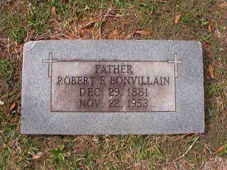BONVILLAIN, ROBERT F - Caddo County, Louisiana | ROBERT F BONVILLAIN - Louisiana Gravestone Photos