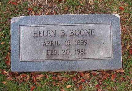 BOONE, HELEN B - Caddo County, Louisiana | HELEN B BOONE - Louisiana Gravestone Photos
