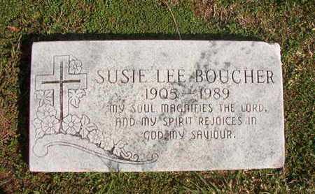 BOUCHER, SUSIE LEE - Caddo County, Louisiana | SUSIE LEE BOUCHER - Louisiana Gravestone Photos