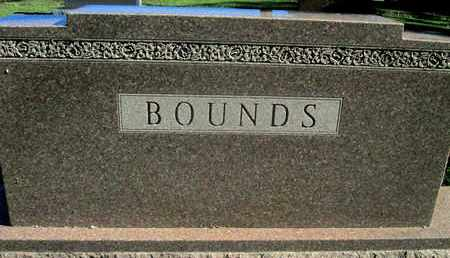 BOUNDS, FAMILY STONE - Caddo County, Louisiana | FAMILY STONE BOUNDS - Louisiana Gravestone Photos