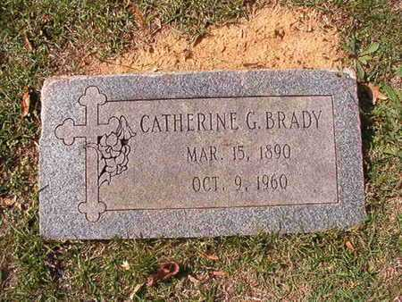 BRADY, CATHERINE G - Caddo County, Louisiana | CATHERINE G BRADY - Louisiana Gravestone Photos