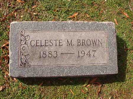 BROWN, CELESTE M - Caddo County, Louisiana | CELESTE M BROWN - Louisiana Gravestone Photos