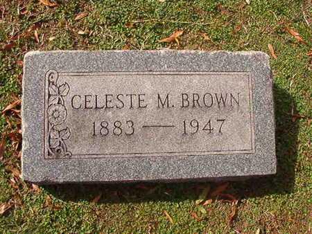 BROWN, CELESTE M - Caddo County, Louisiana   CELESTE M BROWN - Louisiana Gravestone Photos