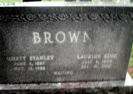 KING BROWN, LOURINE - Caddo County, Louisiana   LOURINE KING BROWN - Louisiana Gravestone Photos