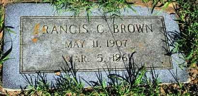 BROWN, FRANCIS C - Caddo County, Louisiana   FRANCIS C BROWN - Louisiana Gravestone Photos