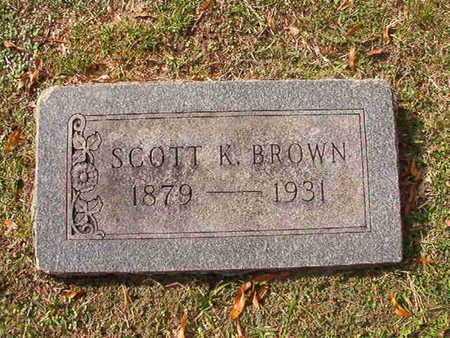 BROWN, SCOTT K - Caddo County, Louisiana | SCOTT K BROWN - Louisiana Gravestone Photos