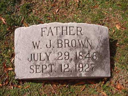 BROWN, W J - Caddo County, Louisiana | W J BROWN - Louisiana Gravestone Photos