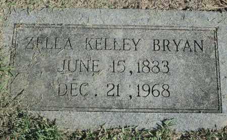 KELLEY BRYAN, ZELLA - Caddo County, Louisiana | ZELLA KELLEY BRYAN - Louisiana Gravestone Photos
