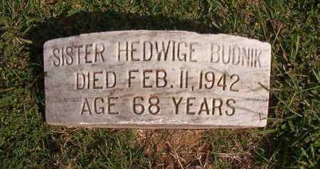 BUDNIK, SISTER, HEDWIGE - Caddo County, Louisiana | HEDWIGE BUDNIK, SISTER - Louisiana Gravestone Photos