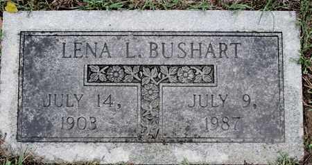 BUSHART, LENA L - Caddo County, Louisiana | LENA L BUSHART - Louisiana Gravestone Photos