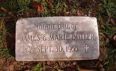 BUTLER, INFANT DAUGHTER - Caddo County, Louisiana | INFANT DAUGHTER BUTLER - Louisiana Gravestone Photos