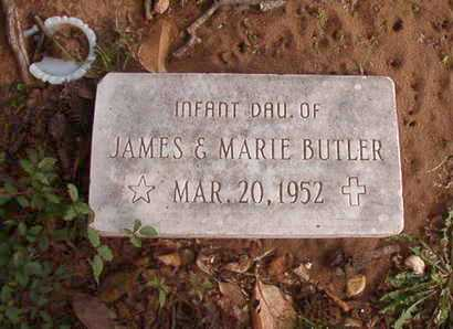 BUTLER, INFANT DAUGHTER - Caddo County, Louisiana | INFANT DAUGHTER BUTLER - Louisiana Gravestone Photos