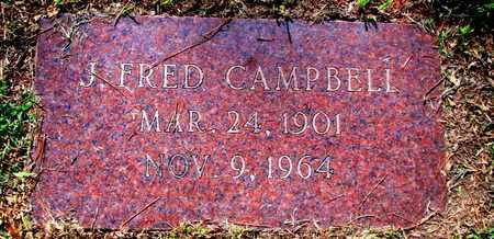 CAMPBELL, J FRED - Caddo County, Louisiana   J FRED CAMPBELL - Louisiana Gravestone Photos