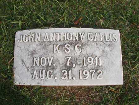 CAPLIS, JOHN ANTHONY - Caddo County, Louisiana | JOHN ANTHONY CAPLIS - Louisiana Gravestone Photos