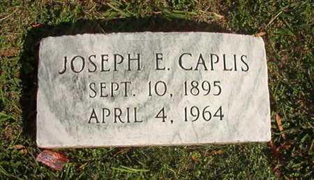 CAPLIS, JOSEPH E - Caddo County, Louisiana | JOSEPH E CAPLIS - Louisiana Gravestone Photos