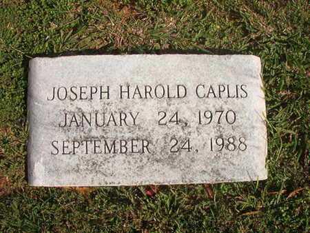 CAPLIS, JOSEPH HAROLD - Caddo County, Louisiana | JOSEPH HAROLD CAPLIS - Louisiana Gravestone Photos