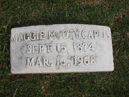 CAPLIS, MAGGIE - Caddo County, Louisiana | MAGGIE CAPLIS - Louisiana Gravestone Photos