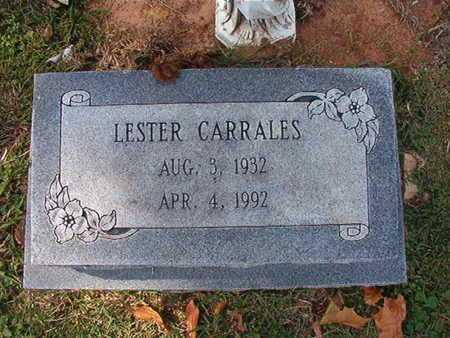 CARRALES, LESTER - Caddo County, Louisiana   LESTER CARRALES - Louisiana Gravestone Photos
