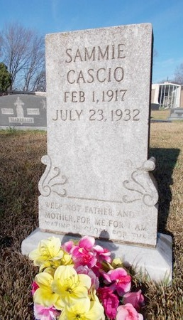 CASCIO, SAMMIE - Caddo County, Louisiana | SAMMIE CASCIO - Louisiana Gravestone Photos