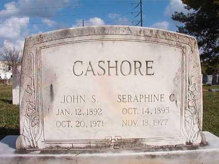 CASHORE, JOHN S - Caddo County, Louisiana | JOHN S CASHORE - Louisiana Gravestone Photos