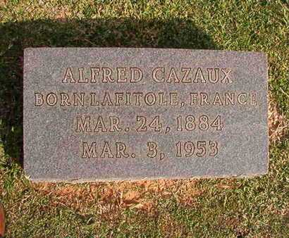 CAZAUX, ALFRED - Caddo County, Louisiana | ALFRED CAZAUX - Louisiana Gravestone Photos
